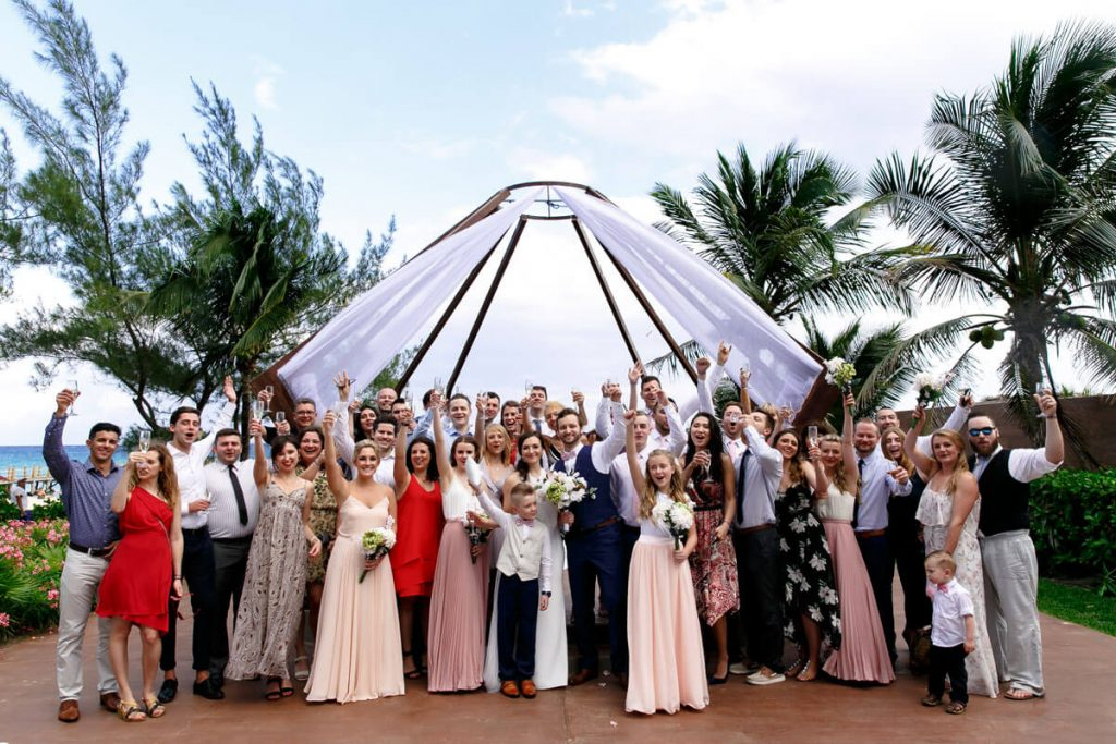 Beachfront Riviera Maya Weddings: Zofia & Blazej 8