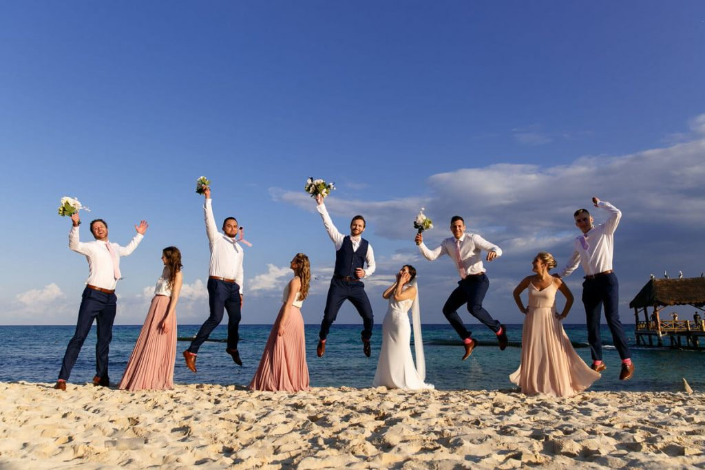 Beachfront Riviera Maya Weddings: Zofia & Blazej 2
