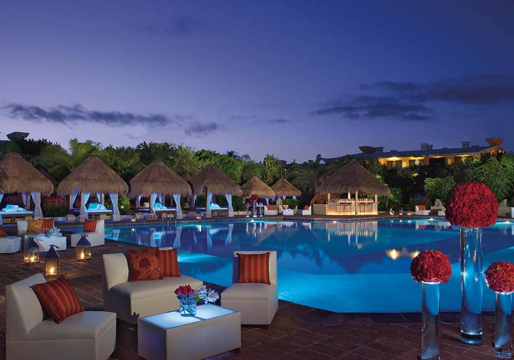 now sapphire destination wedding promotion pool deck