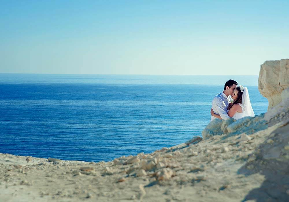 beach climate can affect when you decide to book your destination wedding