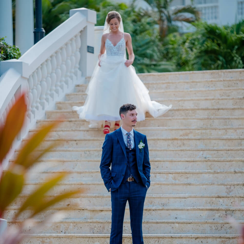 first look with sarah and andy
